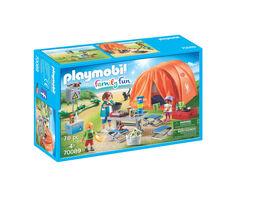 Playmobil Family Fun - Family Camping Trip 70089
