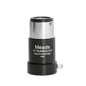 """Meade #126 2X Short-Focus Barlow Lens (125"""") 07273"""