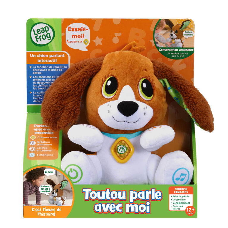 LeapFrog Speak & Learn Puppy - French Edition