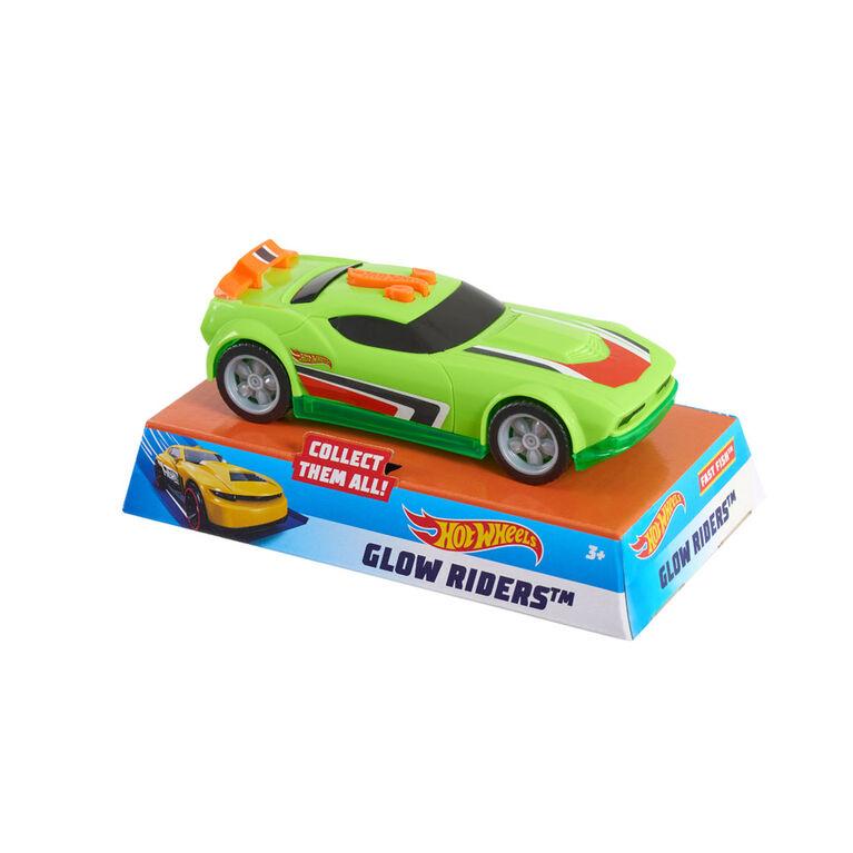 Hot Wheels Glow Riders - R Exclusif