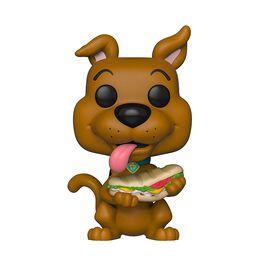 Figurine en vinyle Scooby Doo avec Sandwich de Scooby Doo par Funko POP!