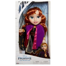 Frozen 2 Anna Travel Doll