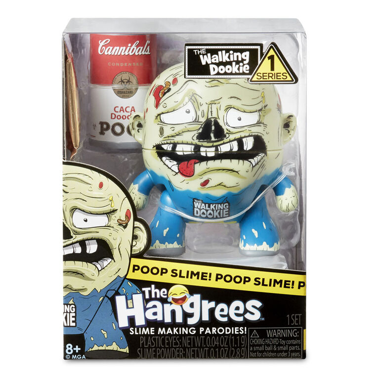 Figurine Parodie The Hangrees The Walking Dookie à collectionner avec gelée