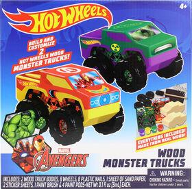 Hot Wheels 2 Pk Monster Trucks - Édition anglaise