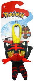 Clip On Peluche de Pokémon Litten.