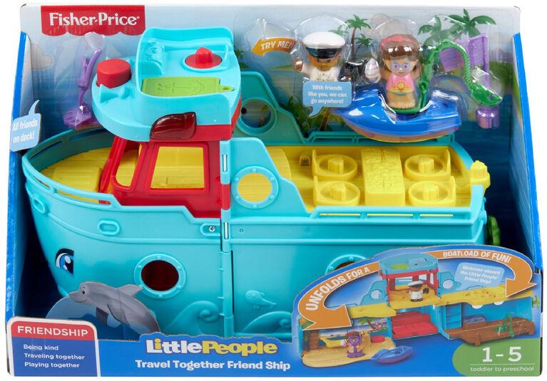 Fisher-Price - Little People - Bateau de l'amitié -Édition bilingue