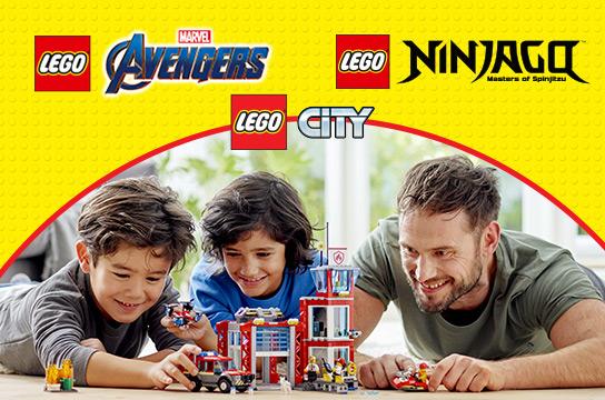 20% off Select LEGO Building Sets