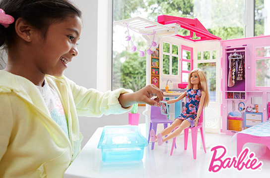 Up to 40% off Select Barbie Dolls and Playsets