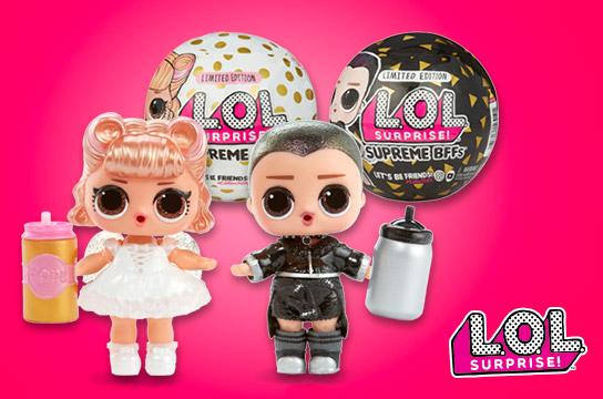 New Limited Edition L.O.L. Surprise! Supreme BFFs