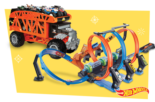 20% OFF ALL* $19.99 and up Hot Wheels Vehicles and Play Sets