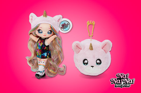 New! Na! Na! Na! Surprise Soft Fashion Dolls