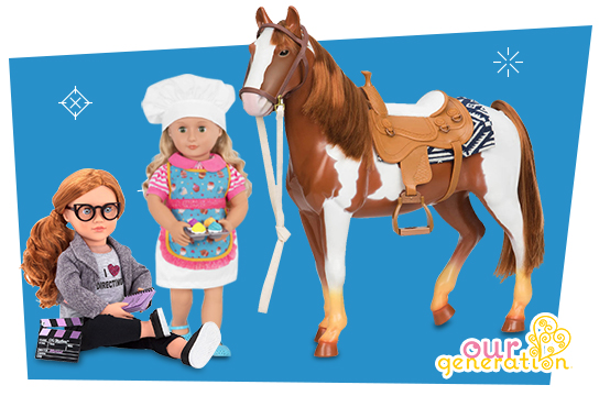 20% OFF ALL $59.99 Our Generation Deluxe Dolls and Accessories
