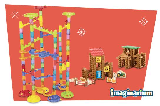 40% OFF These Imaginarium building Sets