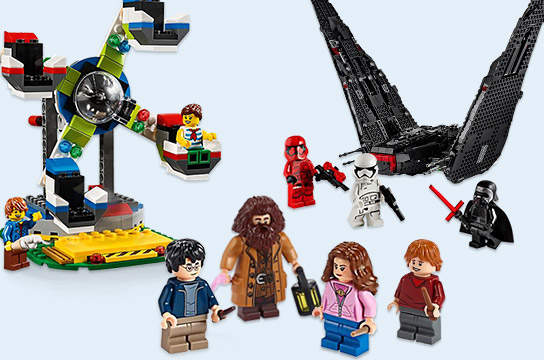 Up to 20% off Select LEGO® Building Sets