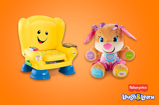 50% off These Laugh & Learn Toys