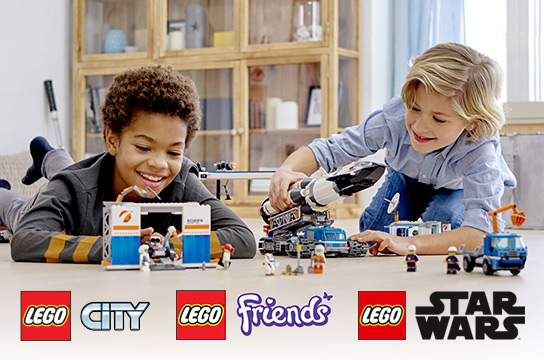 Up to 20% off Select LEGO Building Sets