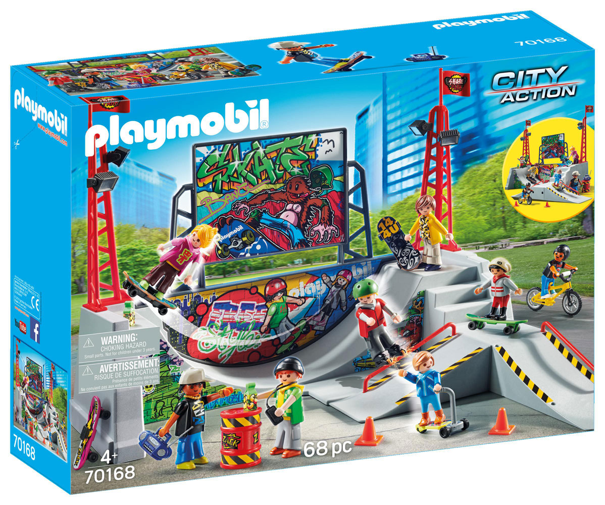 Playmobil City Action Skate Park R Exclusive Toys R Us Canada