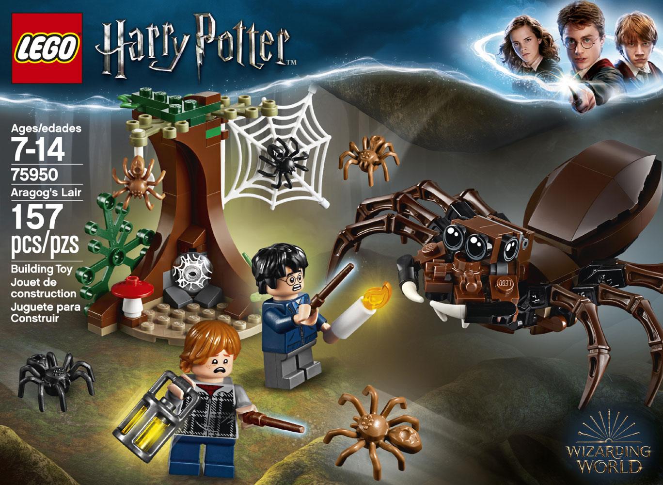 Lego Harry Potter Aragog S Lair 75950 Toys R Us Canada