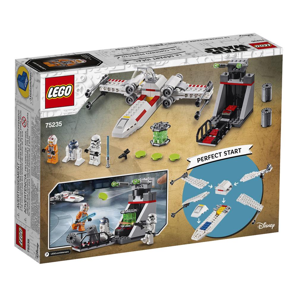 Lego Star Wars X Wing Starfighter Trench Run 75235 Toys