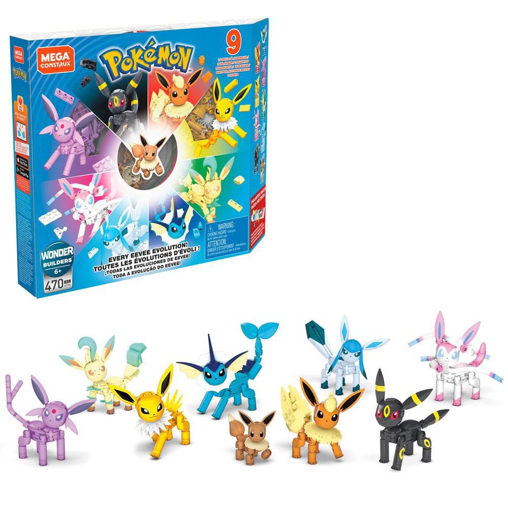 Mega Construx Pok 233 Mon Eevee Epic Evolutions Pack Toys R