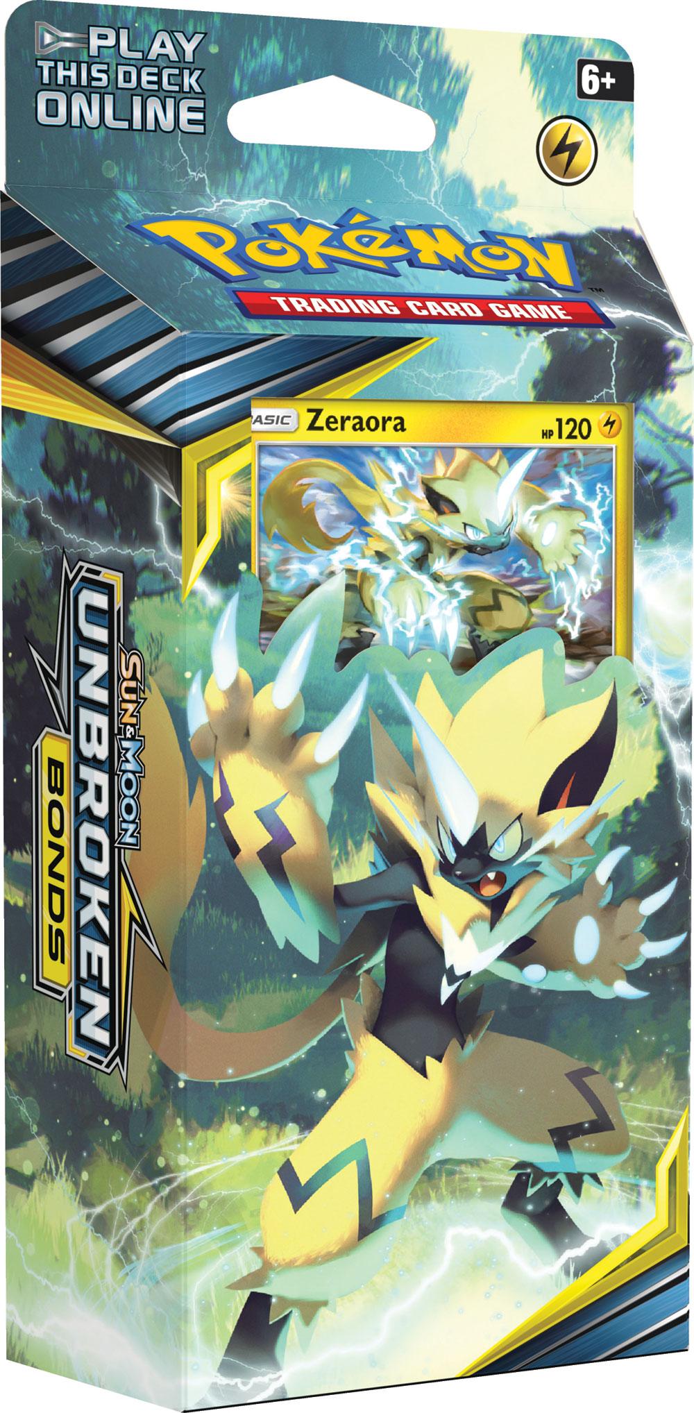 Deck A Theme Pokemon Soleil Et Lune Alliance Infaillible Zeraora