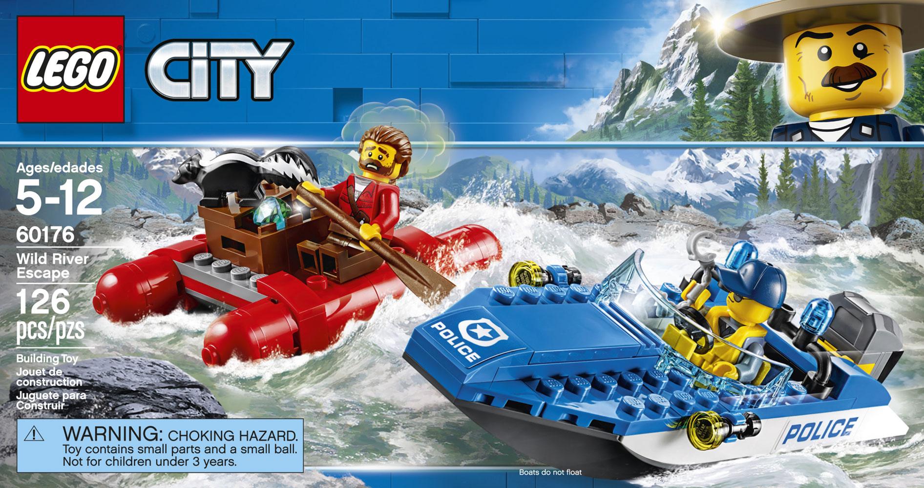 Lego City Police L Arrestation En Hors Bord 60176 Toys R