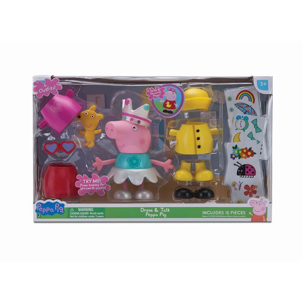 Peppa Pig Large Figure Talking Dress Up Peppa Toys R