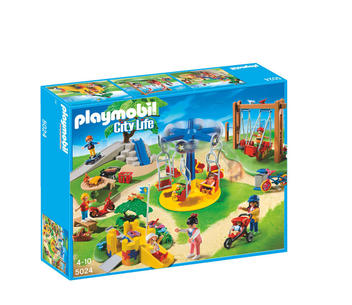 Playmobil City Life Children S Playground 5024 R Exclusive Toys R Us Canada