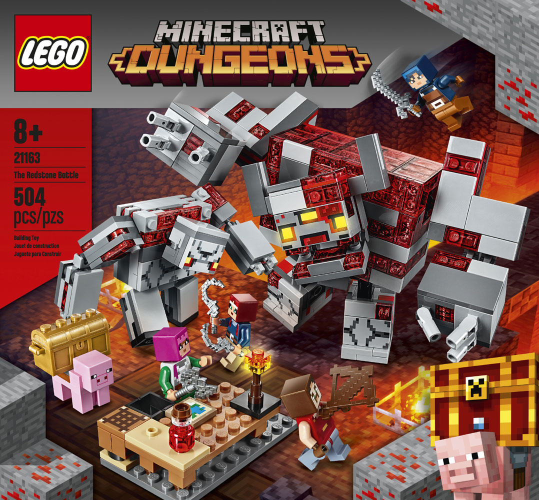 Buy LEGO Minecraft The Redstone Battle 12 for CAD 12.12  Toys R Us  Canada