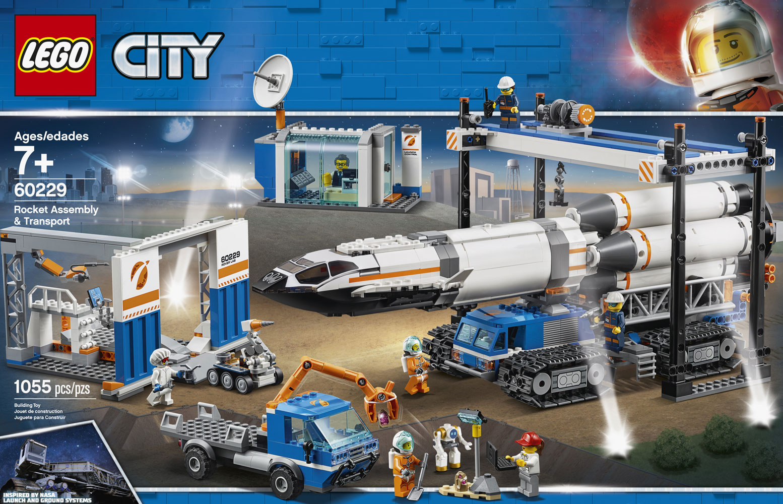 Lego City Space Port Rocket Assembly Amp Transport 60229