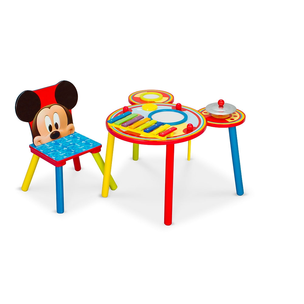Pleasant Buy Disney Mickey Mouse Musical Table And Chair For Cad 89 99 Toys R Us Canada Interior Design Ideas Tzicisoteloinfo
