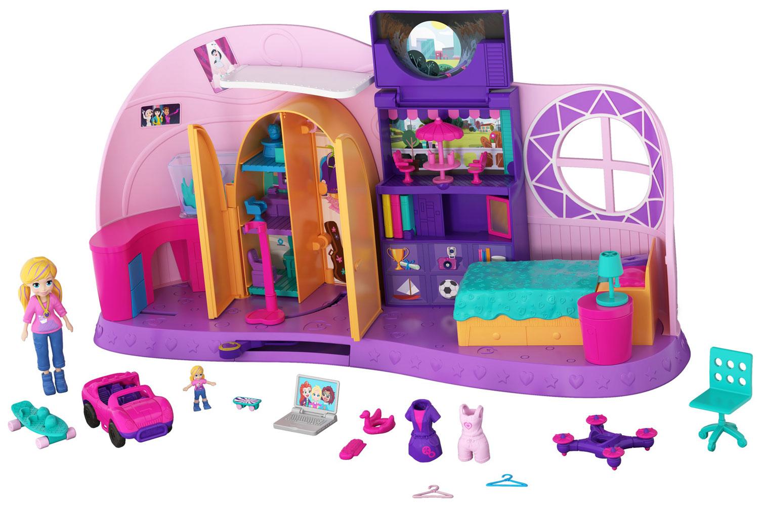 Polly Pocket Go Tiny! Room Playset | Toys R Us Canada