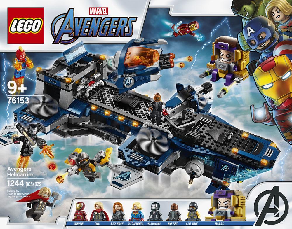 76153 Avengers Helicarrier /& Envoi /& Neuf /& Emballage Lego Super Heroes