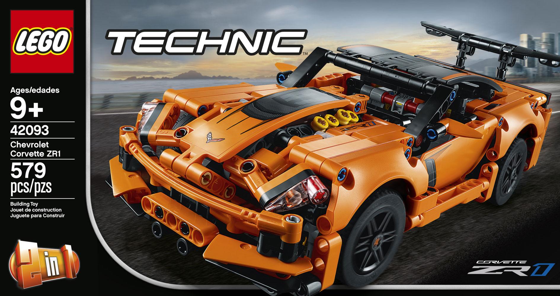 Jeu de construction Chevrolet Corvette ZR1-42093 LEGO Technic