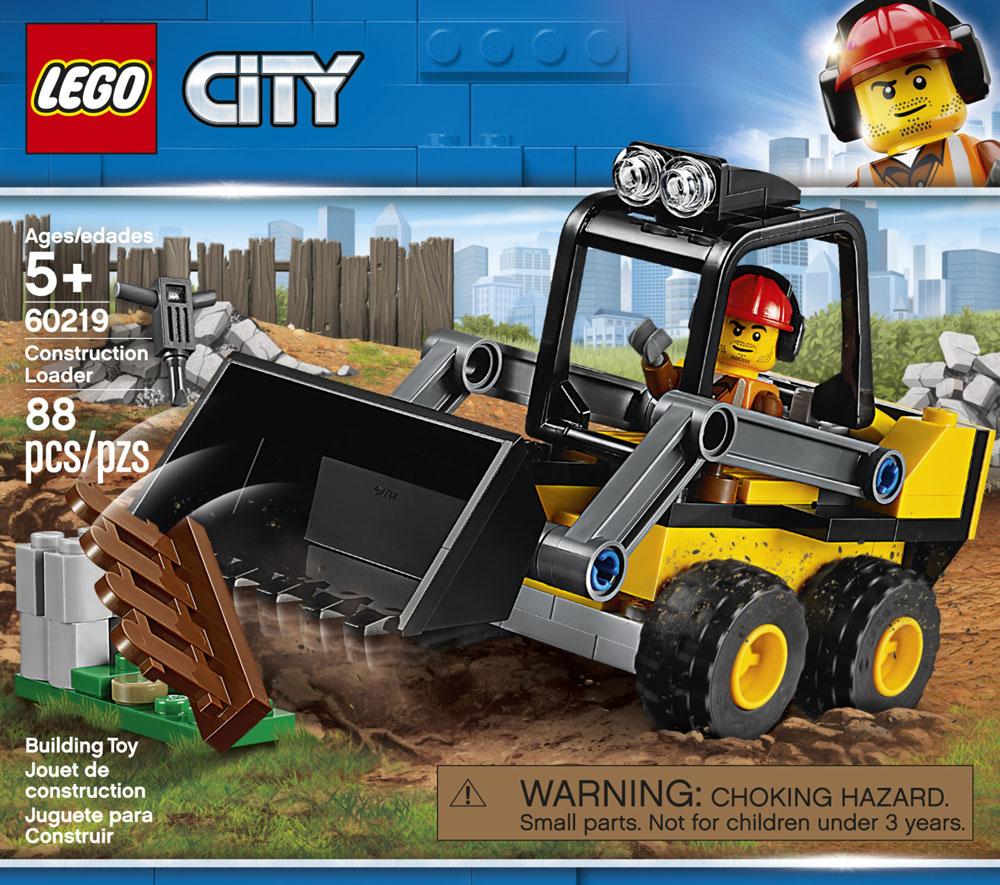 Lego City Construction Loader 60219 Toys R Us Canada