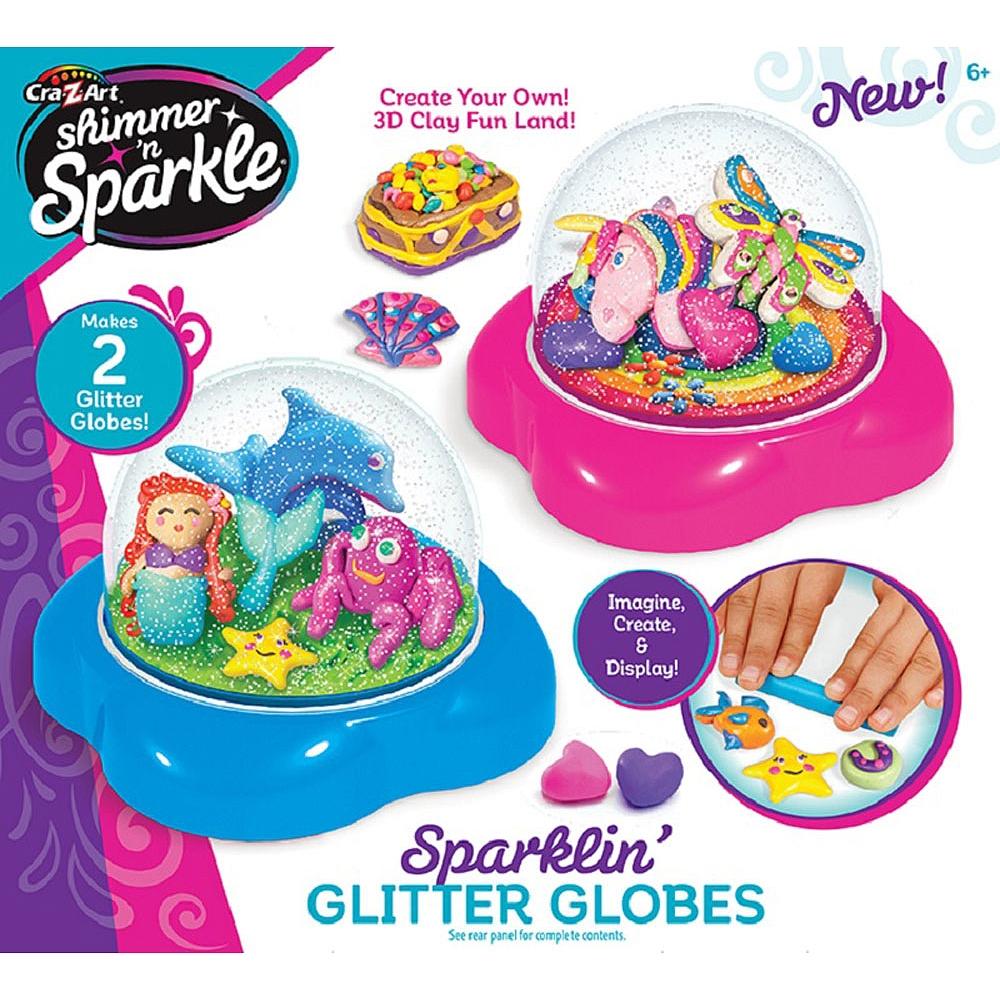 Cra Z Art Shimmer N Sparkle Glitter Dome Kit Toys R